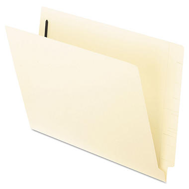 Pendaflex - End Tab Expansion Folders, 2 Fasteners, Straight Cut Tab, Letter, Manila - 50 Pack