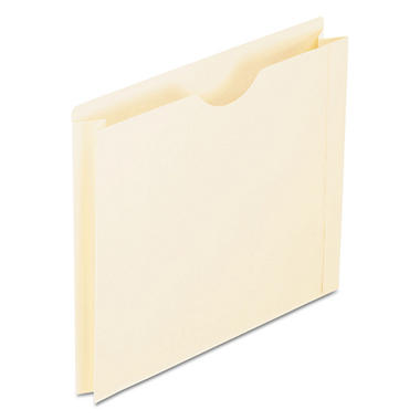 Pendaflex - Double-Ply Tabbed File Jacket with Two Inch Expansion, Letter, Manila - 50 Pack