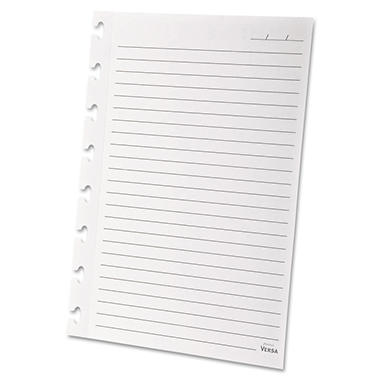 Ampad Versa Refill Paper Wide Ruled Letter - White