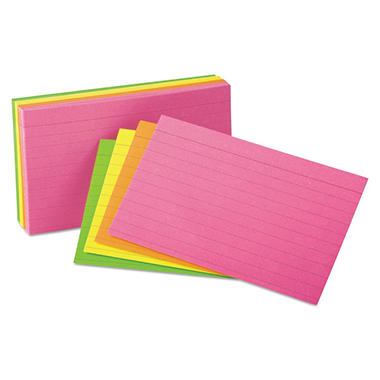 Oxford - Index Cards, Ruled, 3 x 5