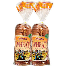 Nickles Split Top Wheat Bread - 20 oz. - 2 pk.