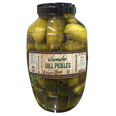 Hunn's Jumbo  Dill Pickles - 2.5 Gallon