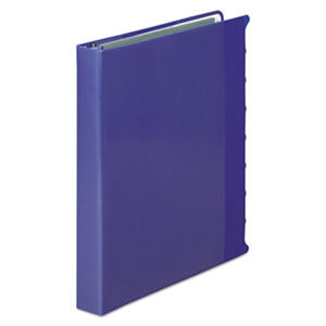 "Wilson Jones View-Tab Presentation Binder, 8-Tab, 1"" Capacity, Blue"