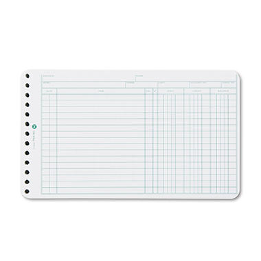 Wilson Jones� Multiple Hole Ledger Sheets