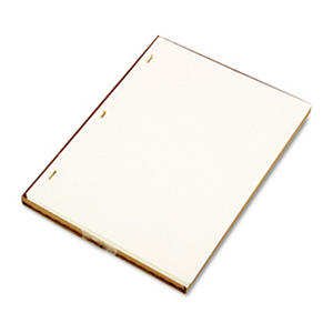 Wilson Jones - Looseleaf Minute Book Ledger Sheets, Ivory Linen, 11 x 8-1/2 -  100 Sheet/Box