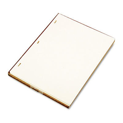 "Wilson Jones - Looseleaf Minute Book Ledger Sheets, Ivory Linen, 11"" x 8 1/2"" - 100 Sheets"