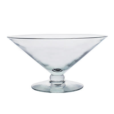 "5"" Grande Footed Bowl, Crystal"