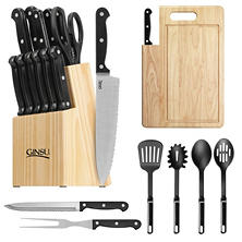 Ginsu 22-Piece Supreme Kitchen Essential Cutlery Combo