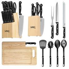 Ginsu 28-Piece Ultimate Kitchen Essential Cutlery Combo