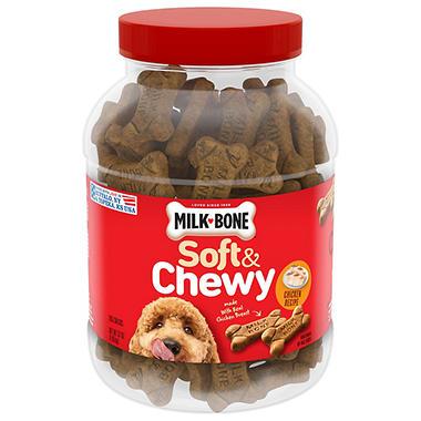 Milk-Bone Soft & Chewy Chicken Recipe Dog Snacks - 37 oz.