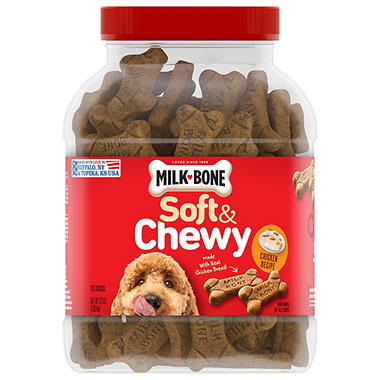 Milk-Bone Soft & Chewy Chicken Recipe Dog Snacks - 37 oz.