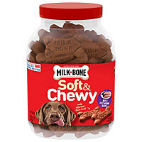 Milk-Bone Soft & Chewy Beef & Filet Mignon Recipe Dog Snacks (37 oz.)