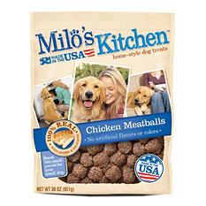 Milo's Kitchen Chicken Meatballs Dog Treats (30 oz.)