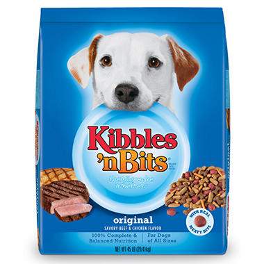 Kibbles 'n Bits Original Dog Food - 45 lbs.