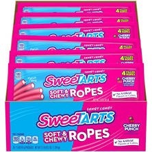 Willy Wonka SweeTARTS Cherry Punch Rope Candy (1.8 oz., 24 ct.)