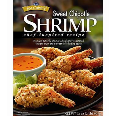 Sea Cuisine Sweet Chipotle Shrimp - 2 lbs.