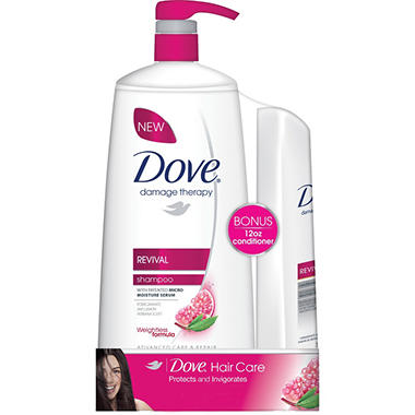 Dove® Damage Therapy Revival Shampoo Bonus Pack