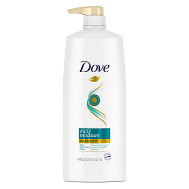 Dove Damage Therapy Shampoo, Daily Moisture - 40 oz. pump