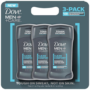 Dove Men+Care Clean Comfort Antiperspirant/Deodorant - 3/2.7 oz.