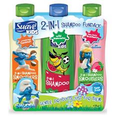 Suave Kids 2-in-1 Shampoo Funpack - 22.5 fl. oz. - 3 pk.