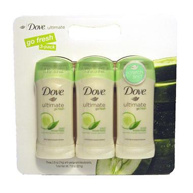 Dove Anti-Perspirant Deodorant 2.6 oz.- 3 pk.