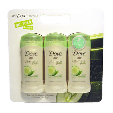 Dove  Anti-Perspirant ./Deodorant - 3/2.6 oz.
