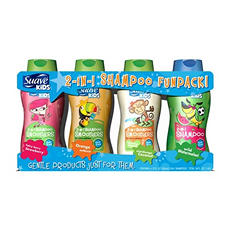 Suave Kids 2 in 1 Hair Smoothers Shampoo Fun Pack - 4/12 oz.
