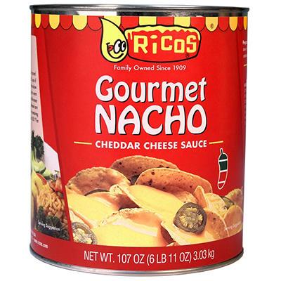 Ricos Salsa de Queso Cheddar Gourmet Nacho - #10