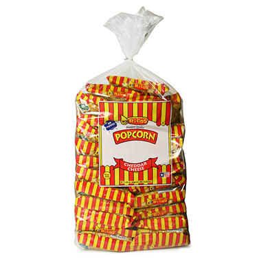 Ricos Cheddar Cheese Popcorn - 1.75 oz. bags - 25 ct.