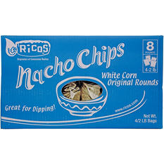 Ricos for Member's Mark White Corn Round Nacho Chips (8 lb.)