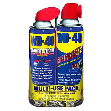 WD-40 Big Blast + Smart Straw - 12 oz.