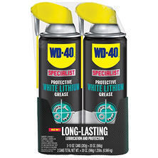 WD-40 Specialist Protective White Lithium Grease - 10 Oz. - 2 Pack