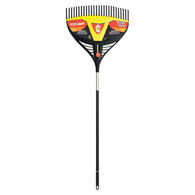 True Temper Wet-n-Dry Leaf Rake - 26 inches