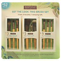 EcoTools Get The Look Trio Brush Set ( 9 Brushes)