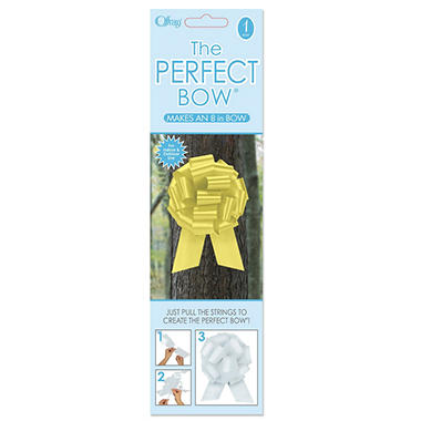 Perfect Yellow Bows - 6 pk.