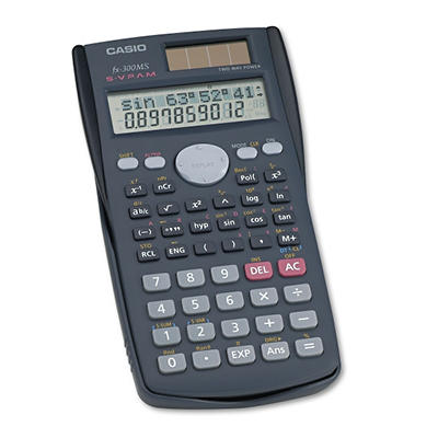 Casio FX-300MS Scientific Calculator, 10-Digit LCD