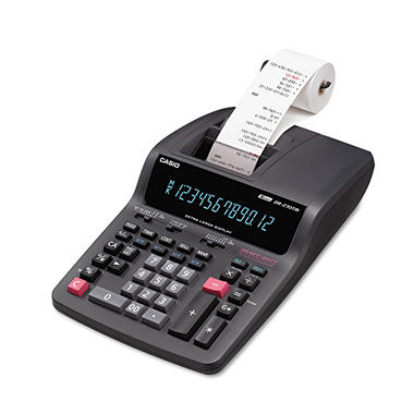 Casio® DR270TM Desktop Calculator