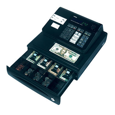 Casio Cash Register 5 Dept - 120 PLUs
