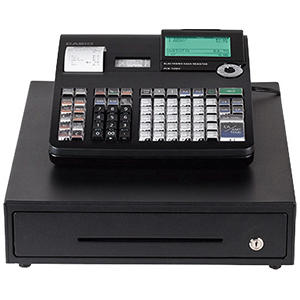 Casio PCRT2300 Thermal Print Cash Register - 7,000 Lookups