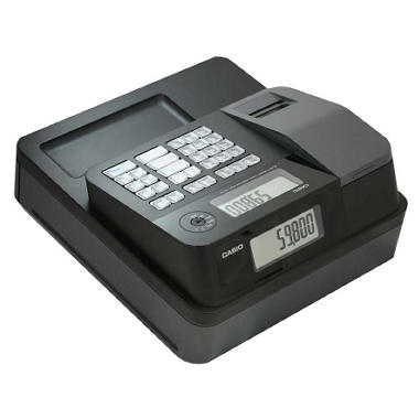 *$84.88 after $10 Tech Savings* Casio - SM-T274 Thermal Print Cash Register, 999 LookUps