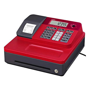 Casio - SEG1SC - Thermal Print Cash Register - 999 LookUps - Various Colors