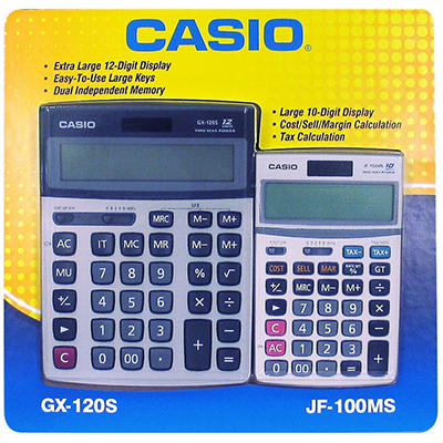 Casio Calculator Combo Package