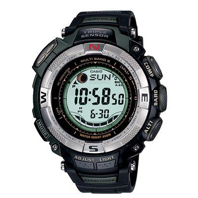 Casio Men's Atomic Solar Pathfinder Watch