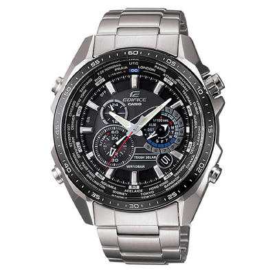 Casio Self Charging Edifice Stainless Steel Chronograph Watch