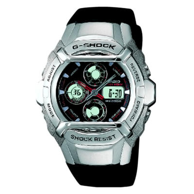 Casio Black Ana-Digi G-Shock Watch