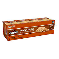 Austin Toasty Crackers with Peanut Butter (45 pk.)