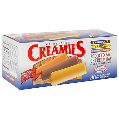 Creamies™ Premium Ice Cream Bar Variety Pack - 24 ct.