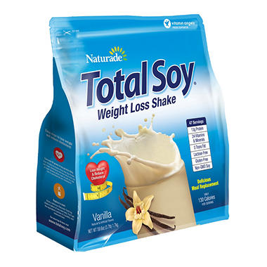 Naturade Total Soy Vanilla NEW Formula - 3 lbs.