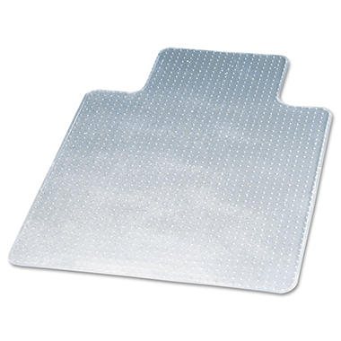 Deflect-O - DuraMat Chair Mat for Low Pile Carpet, 36w x 48h, Clear
