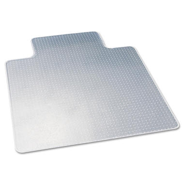 Deflect-O - DuraMat Chair Mat for Low Pile Carpet, 45w x 53h, Clear